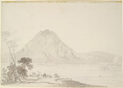 Courtallam Ghat on the Cauvery River. 3 June 1792